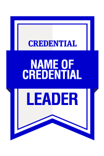 AIM Leader Credential Digital Badge